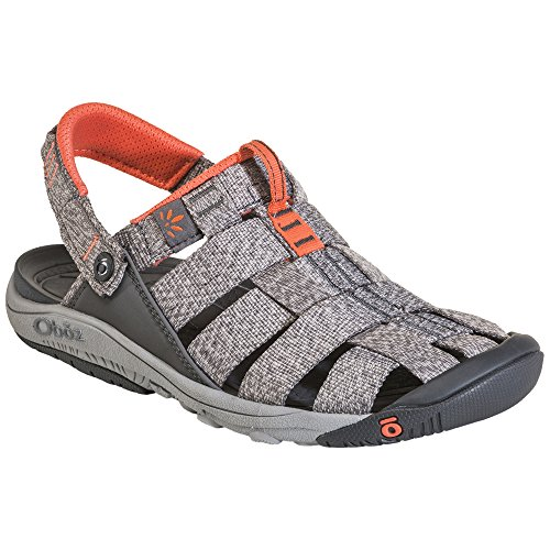 Oboz Women's Campster 6.5 Heather Gray/Coral by Oboz