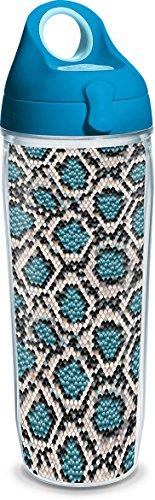 Tervis 24 oz. Snake Skinz Water Bottle Beige/blue