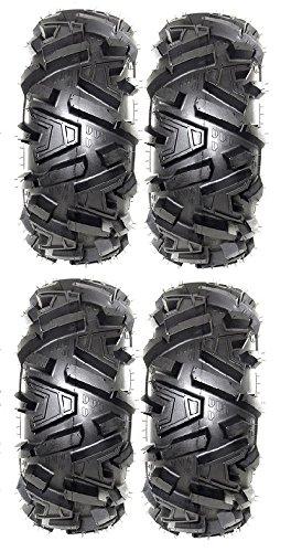 Full set of MotoSport EFX Moto MTC 30x10-14 ATV Tires (4)