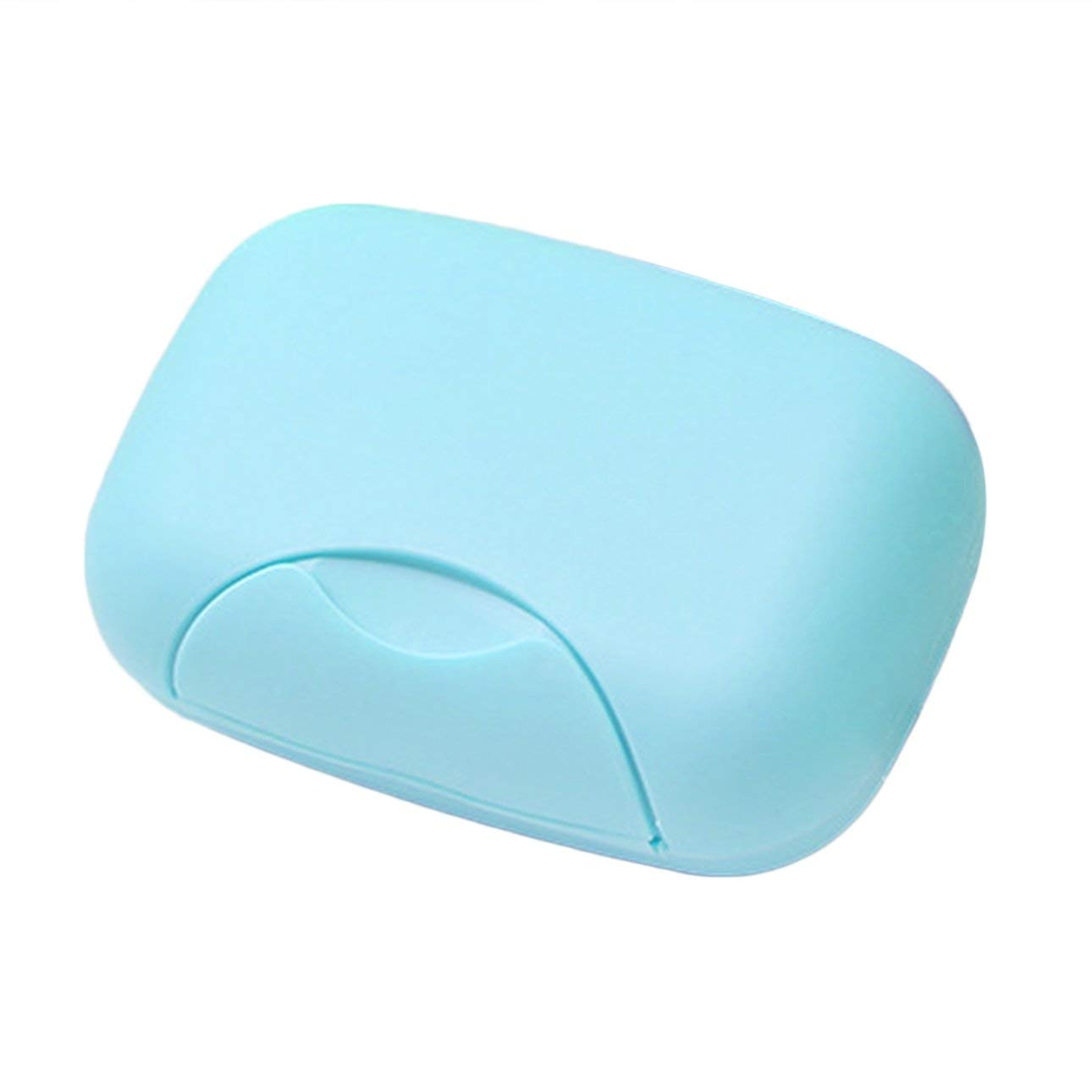 Liobaba Removable Soap Drainers Plastic Soap Holder Container Soap Saver Box Case Bathroom Shower Home Outdoor Travel