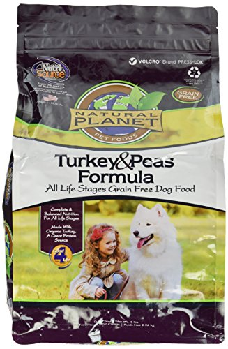 KLNTA Natural Planet Organics Turkey Dog Food 5lb by KLNTA
