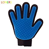 LONERS Pet Hair Remover Glovers Deshedding Glove Brush for Gentle and Efficient Pet Grooming