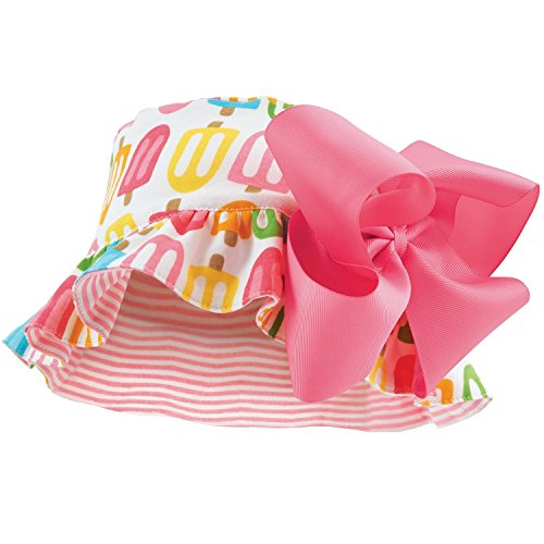 Mud Pie Baby Girls' Popsicle Sun Hat (6-18 months, multi)