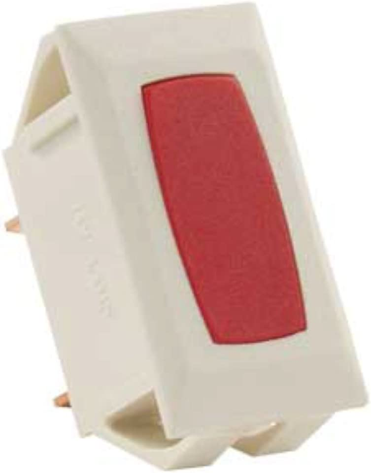 JR Products 12741-5 Red Ivory 12V Indicator Light for Switch
