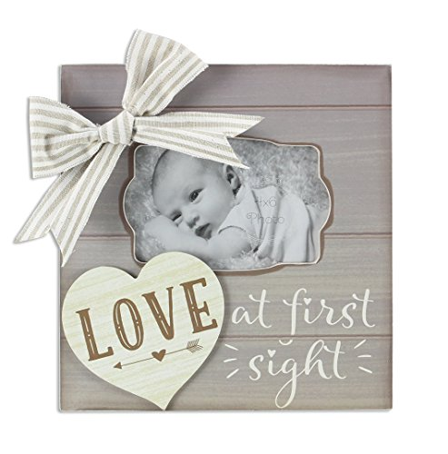 Young's Baby Love At First Sight Wooden Picture Photo Frame, 9.25