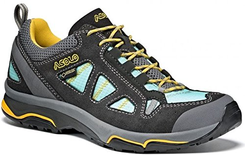 Asolo Megaton GV GTX Hiking Shoe - Women's-Graphite/Pool A40011-Graphite/Pool Side-9.5 by Asolo (Image #1)
