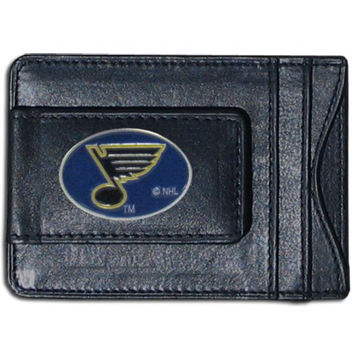 NHL St. Louis Blues Genuine Leather Cash and Cardholder