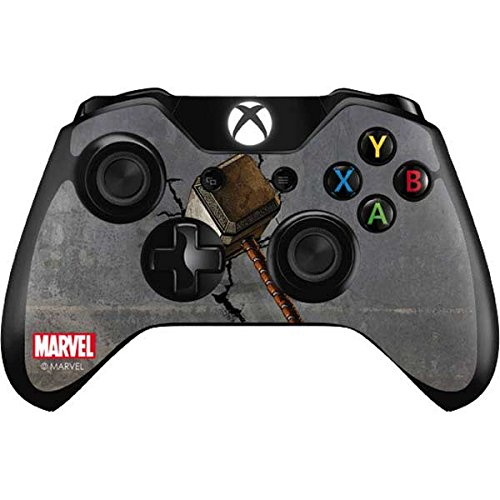 Skinit Mjolnir Hammer of Thor Xbox One Controller Skin - Officially Licensed Marvel/Disney Gaming Decal - Ultra Thin, Lightweight Vinyl Decal Protection