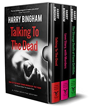 book cover of Fiona Griffiths Crime Thriller Box Set Books 1-3