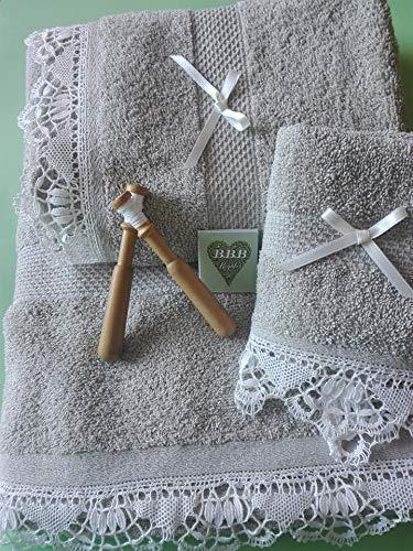Toallas de PUNTILLA BOLILLOS: Amazon.es: Handmade