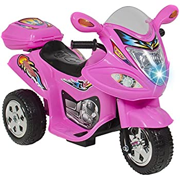 Amazon Com Ride On Toy 3 Wheel Motorcycle For Kids