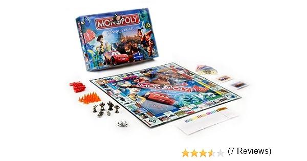 Monopoly - Disney Pixar edition by MONOPOLY: Amazon.es: Juguetes y juegos