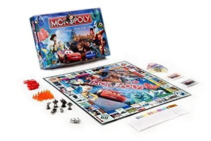 Amazon.com: Monopoly – Disney Pixar Edition por Monopoly ...