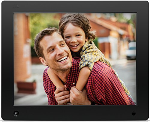 NIX Advance - 12 inch Digital Photo & HD Video (720p) Frame with Motion Sensor & 8GB Memory - X12D by NIX