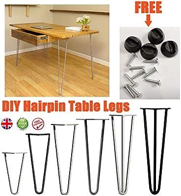 4 patas de horquilla para mesa/mesa/banco/asiento/soporte de TV ...