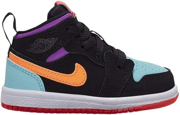 Amazon.com | Nike Jordan 1 Mid (td