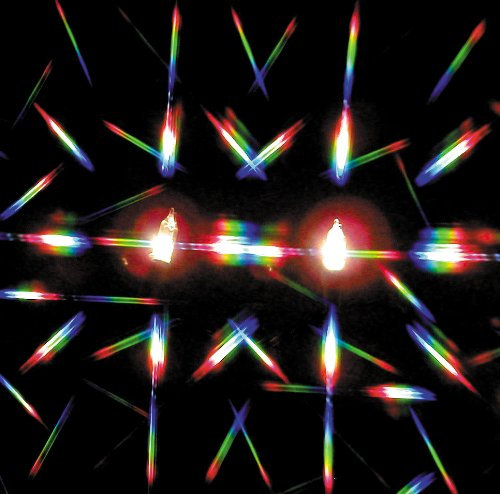 Double Axis Diffraction Grating Material (8 in. x 10 in. sheet) ()