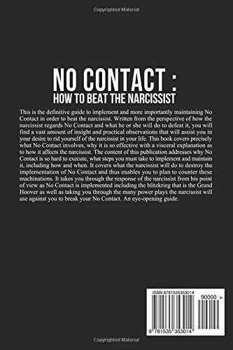 How a narcissist reacts to no contact