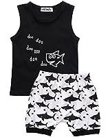 Baby Boy Girl T-Shirt Clothes Shark and Doo Doo...