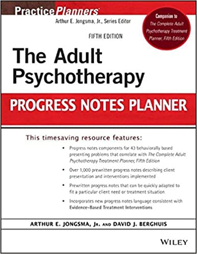 Amazon the adult psychotherapy progress notes planner the adult psychotherapy progress notes planner 5th edition fandeluxe Choice Image