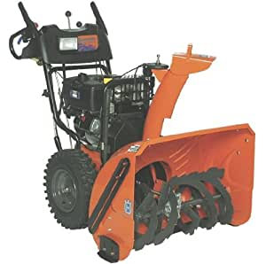 Husqvarna 1827SB 27-Inch 414cc OHV Gas Powered Two-Stage Snow Thrower With Variable Speed, Remote Chute Rotation & Electric Start 9619300-47
