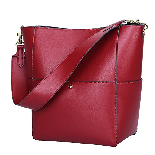 Tote Shoulder Bag (Red) - 7