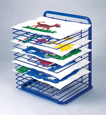 Marvel Education MTC-419 Drying Rack, Blue, 25 x 20-3/4 x 17