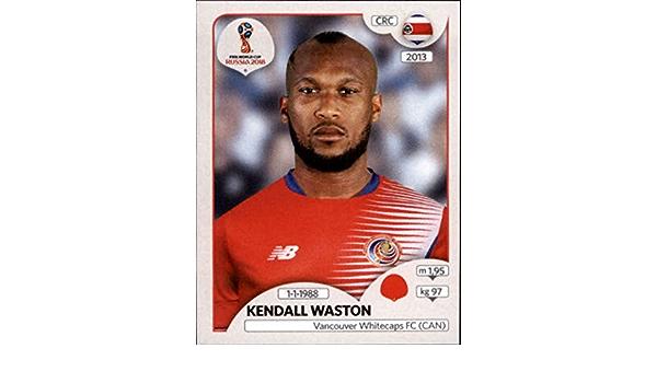 Panini coupe du monde 2018 World Cup Russia-Sticker 399-Kendall Waston-Costa Rica