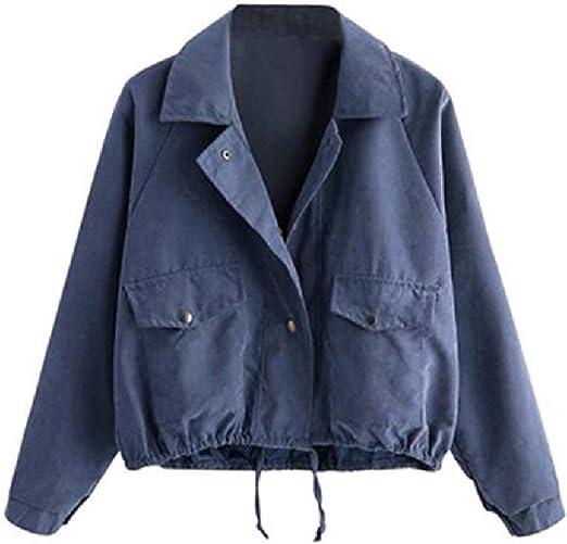 VITryst Womens Flap Pockets Long Sleeve Splice Cropped Slim-Fit Solid Windbreakers