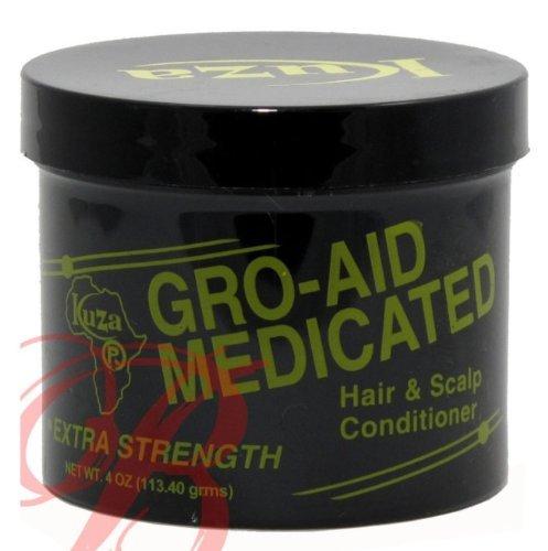 Kuza Gro-aid Medicated Extra Strength 4oz