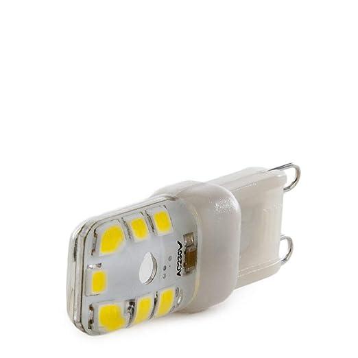 Greenice | Bombilla de LEDs G9 Dimable 3W 270Lm 30.000H | Blanco Frío: Amazon.es: Iluminación