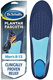 Dr. Scholl's Plantar Fasciitis Pain Relief Orthotics, Clinically Proven Relief and Prevention of Plantar Fasci