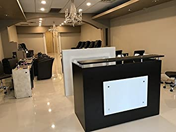 Incredible Dfs Reception Desk Shell Which Fits A 15 Monitor 60 W By 30 D By 44 H Espresso And White Front Pdpeps Interior Chair Design Pdpepsorg