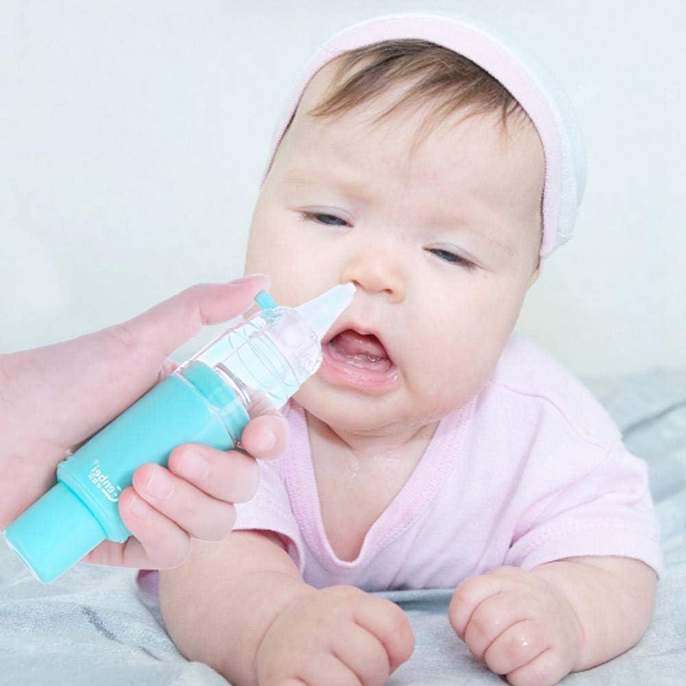 Aspirador nasal para niños, limpiador de nariz sin electricidad ...