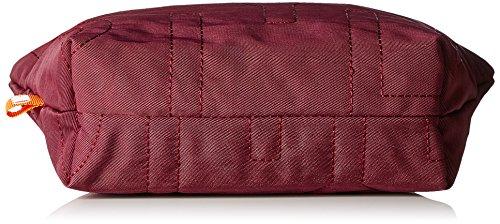 Oilily Spell Cosmeticpouch Mhz 1 - Carteras de mano Mujer Rojo (Burgundy)