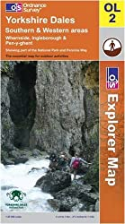 Yorkshire Dales: Southern and Western Areas (OS Explorer Map)