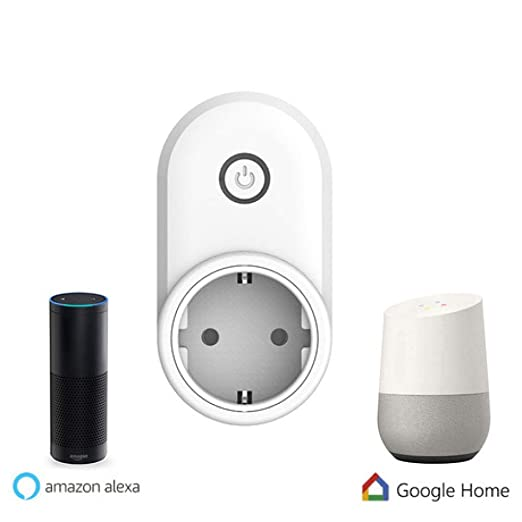 LIUQIAN Smart Socket Mini Plug WiFi con Alexa y Google Home Smart ...