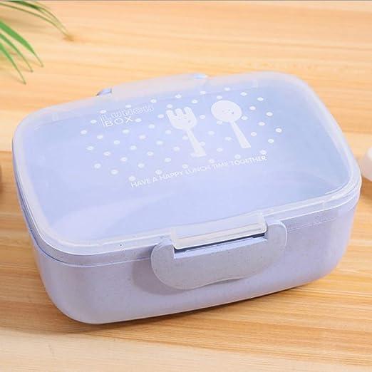 Caja de almuerzo libre de BPA Caja de Bento ecológica de dibujos ...