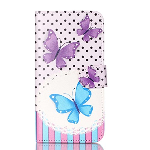 Patterns Printed Leather Protective Case Butterfly product image