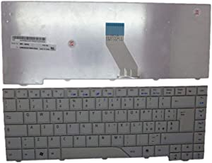 Laptop Keyboard for Acer Aspire 5730 5730G 5730Z 5730ZG 5910 5910G 5920 5925G 5930 5930G 5930Z 6920 6920G 6935G Grey Italy IT