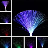 Multicolor Romantic led Fiber Optic Flashing Night Light for