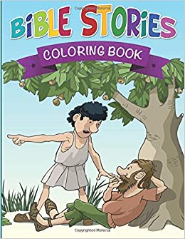 Bible Stories Coloring Book Speedy Publishing LLC 9781633833821 Amazon Com Books