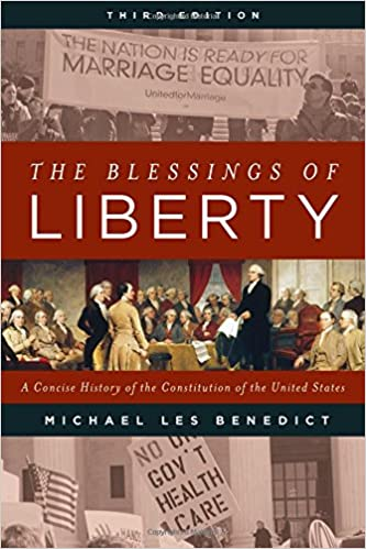 The blessings of liberty a concise history of the constitution of the blessings of liberty a concise history of the constitution of the united states michael les benedict 9781442259928 amazon books fandeluxe Gallery