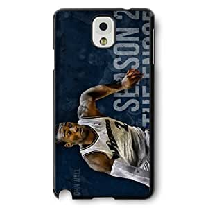 Onelee(TM) - Customized Black Hard Plastic Samsung Galaxy Note 3 Case, NBA Superstar Washington Wizards John Wall Samsung Galaxy Note 3 Case