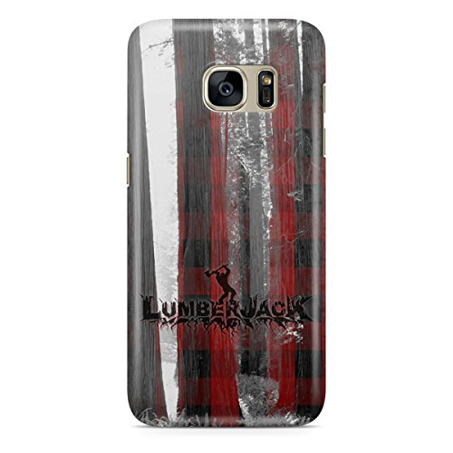 Phone Case For Apple iPhone 5C - Lumberjack Snap-On Wrap-Around