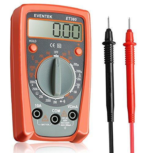 Digital Multimeter Continuity : Eventek digital multimeter et electronic amp volt ohm