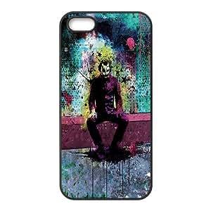 [The Joker] Colorful Joker Cases for Case For Htc One M9 Cover , Case For Htc One M9 Cover Case Cute Design for Women Protective {Black}