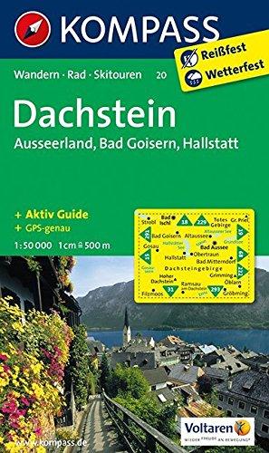 dachstein-ausseerland-bad-goisern-hallstatt-wanderkarte-mit-aktiv-guide-skitouren-und-radrouten-gps-genau-1-50000-kompass-wanderkarten-band-20