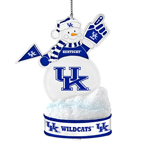 NCAA Kentucky Wildcats LED Snowman Ornament ()