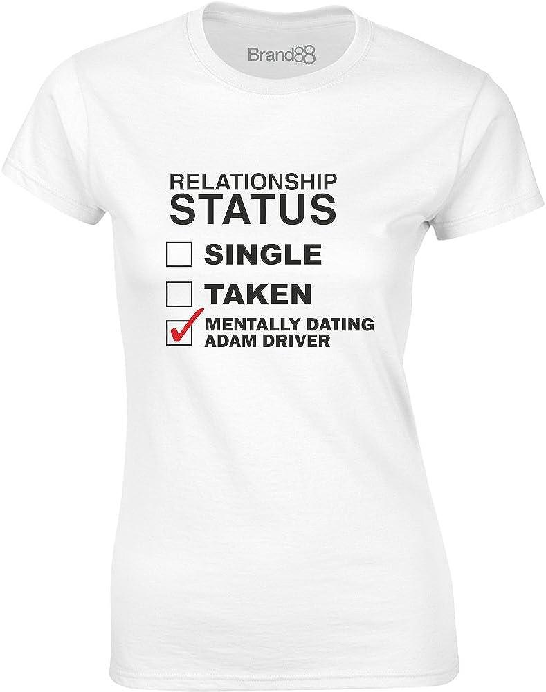 Mesdames T-Shirt imprim/é Mentally Dating Adam Driver Brand88
